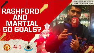 HAVE TO KEEP THIS UP! MAN UTD 4 NEWCASTLE 1 Adam McKola Review