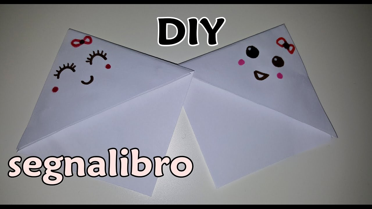 Molto DIY tutorial Segnalibro fai da te - DIY tutorial bookmark  XT24