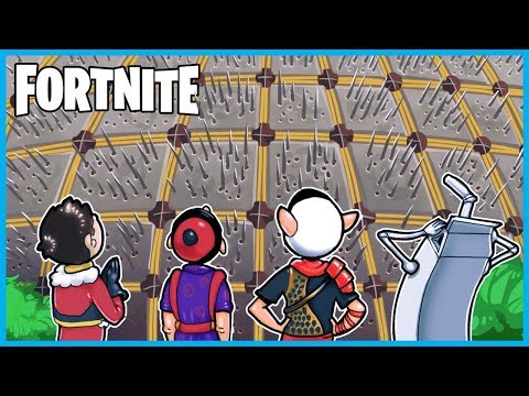 MASSIVE SPIKE TRAP WALL Victory Royale in Fortnite: Battle Royale! Fortnite Funny Moments