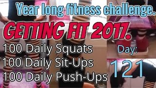 100 push ups 100 sit ups and 10 miles a day challenge