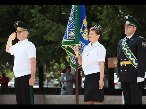 Церемония вручения знамени Управлению ФССП России по Челябинской области