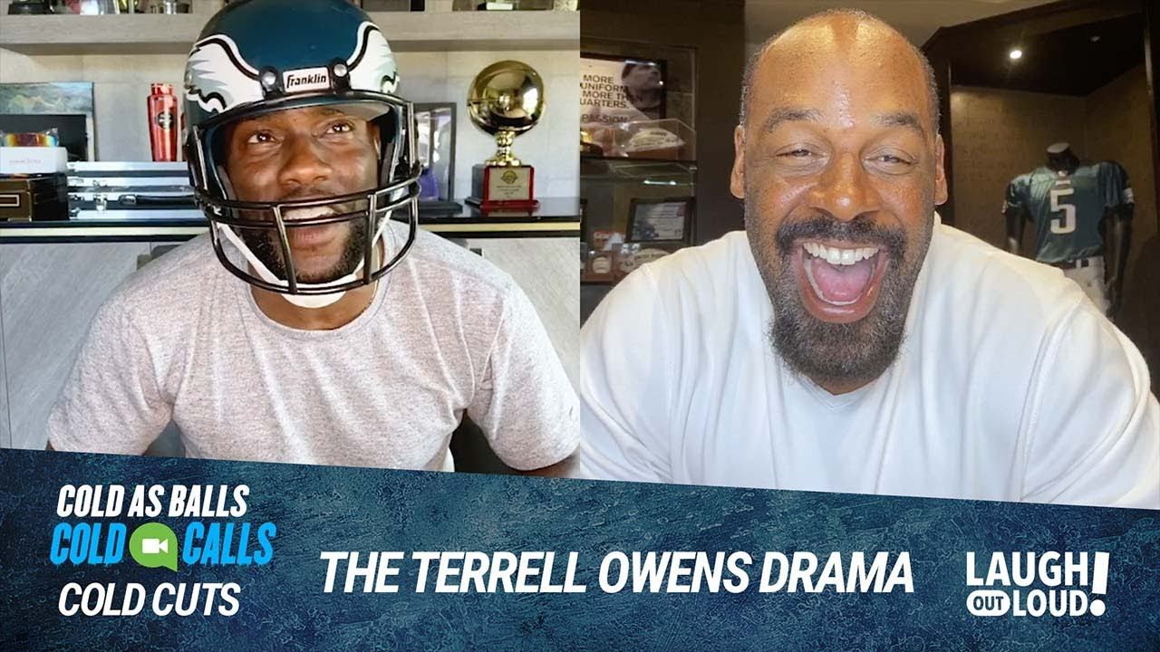 Donovan McNabb on Terrell Owens   Cold As Balls: Cold Cuts   Laugh Out Loud Network