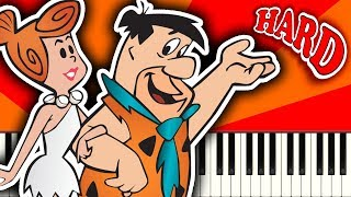 THE FLINTSTONES THEME - Piano Tutorial