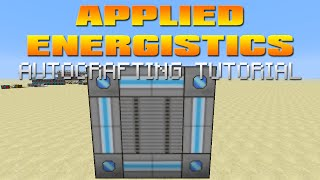 Applied Energistics Tutorial - ME System Autocrafting & Autoprocessing