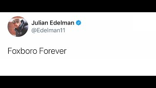 NFL Players React To Julian Edelman Retiring From NFL After 12 Year Career