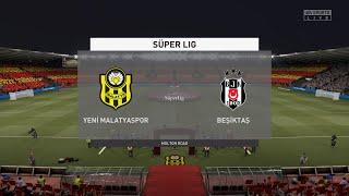 FIFA 21 Yeni Malatyaspor vs Besiktas Turkey Super Lig 02 03 2021 1080p 60FPS