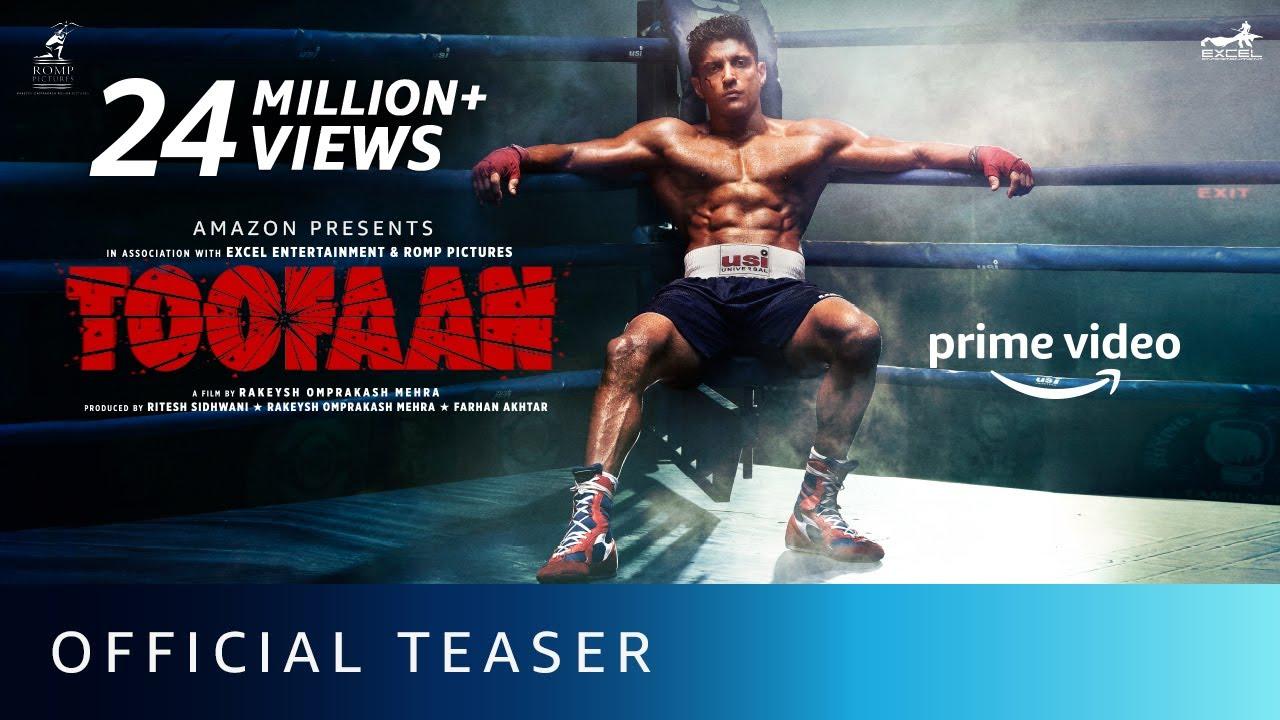 Download Toofaan - Official Teaser 2021   Farhan Akhtar, Mrunal Thakur, Paresh Rawal   Amazon Prime Video