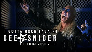DEE SNIDER - I Gotta Rock (Again) (Official Video) | Napalm Records