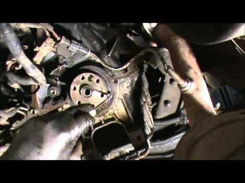 Buick T Type Parts - Rear Main Seal Removal