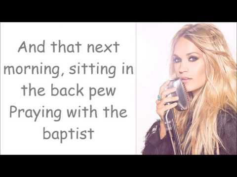 Carrie Underwood ~ Church Bells (Lyrics)