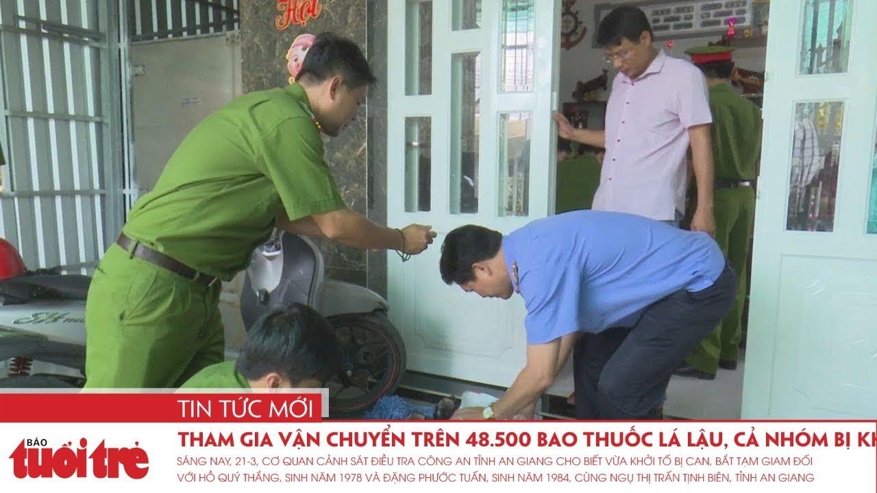 Tham gia vận chuyển trên 48.500 bao thuốc lá lậu, cả nhóm bị khởi tố