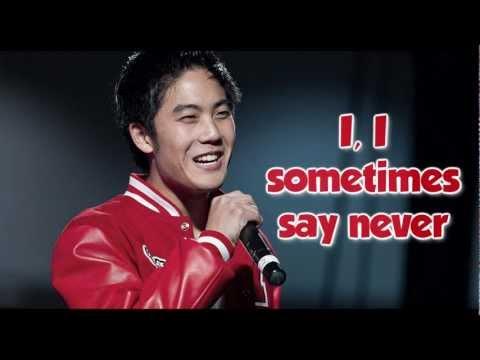 Never Say Never - Ryan Higa (Parody) (Lyrics) HD
