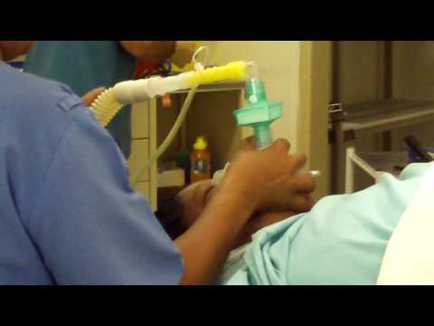 Anesthetist Administers General Anesthetic