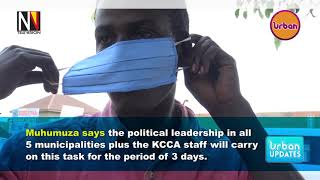 Government is set to start distributing Face masks in Kampala today.