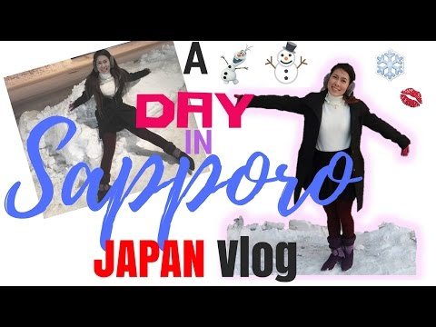 A Day in Sapporo, Japan ► Travel Diary | UNIQLO | Seicomart | Coop Supermarket