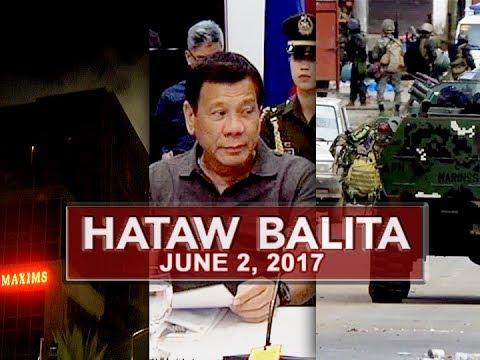 UNTV: Hataw Balita (June 2, 2017)