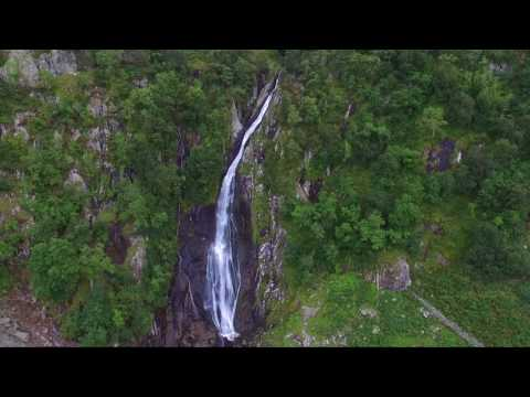 Aber Falls By Air #1