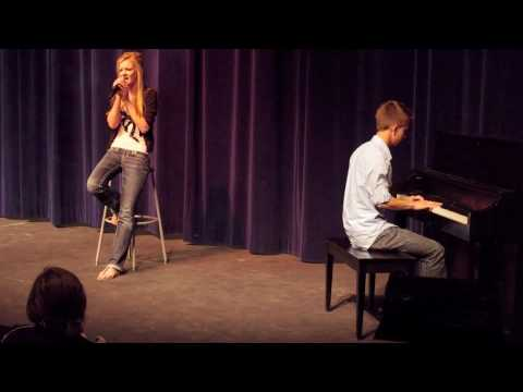 VCHS Talent Show: Forever and Always Piano Version by Taylor Swift