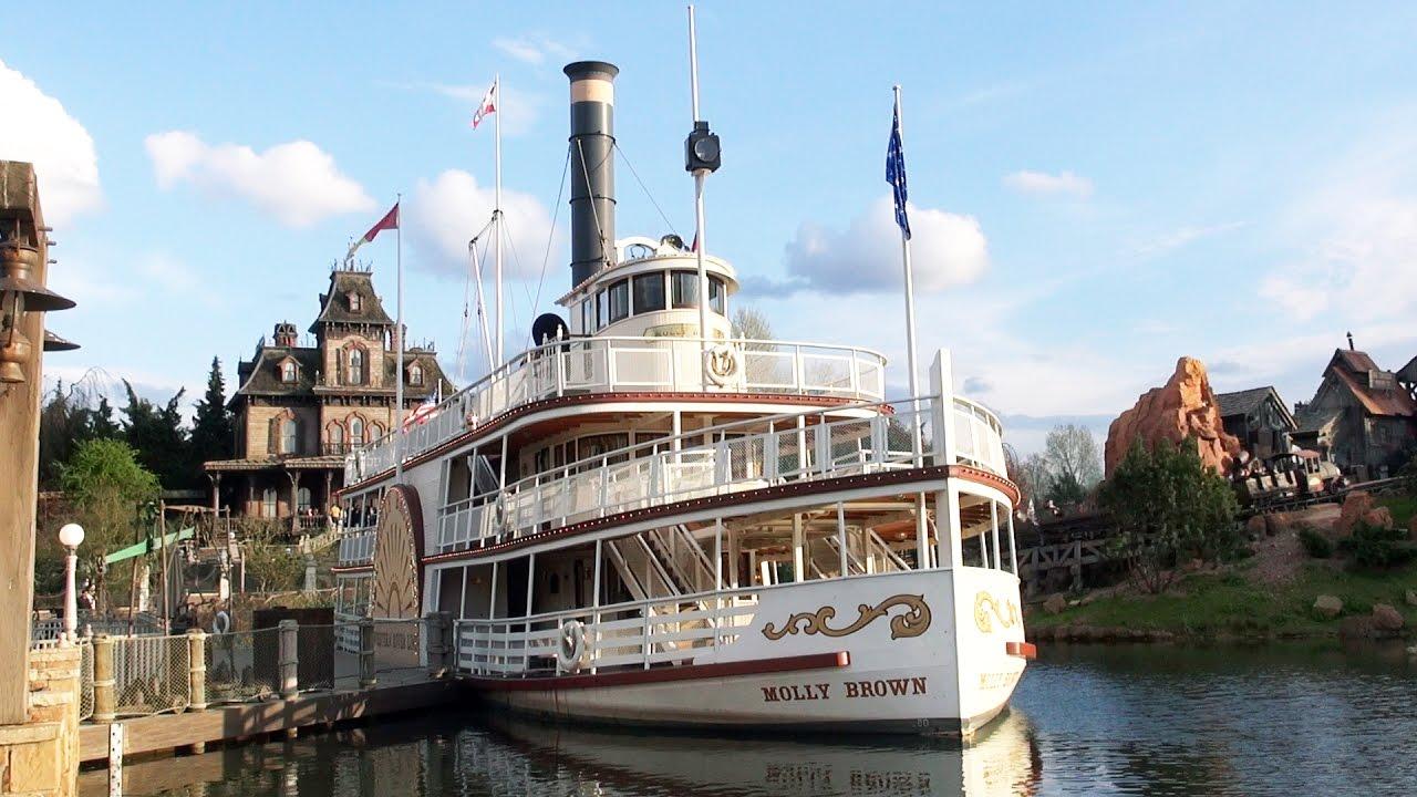 Disneyland Paris Riverboat Molly Brown FULL Ride 2017