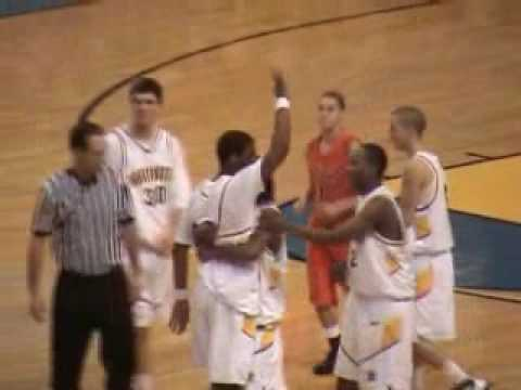 OJ Mayo's final dunk as a high school player followed by an immediate ejection for throwing the ball in the stands