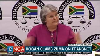 Hogan slams Zuma