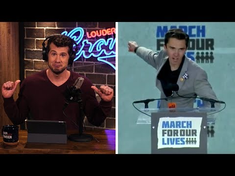 DAVID HOGG: The Unfiltered, Unpopular Truth! | Louder With Crowder