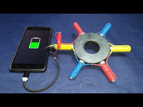 Смотреть Free Energy Generator Magnet 100% Real New Technology New Idea Project онлайн