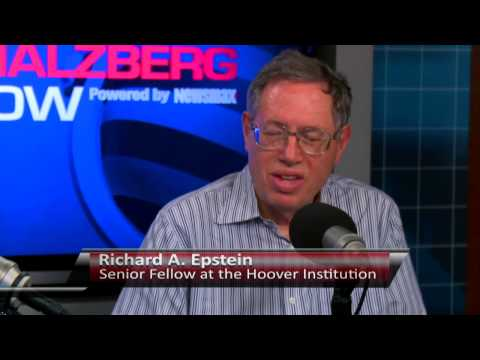 Richard A. Epstein, Senior Fellow at the Hoover Institution
