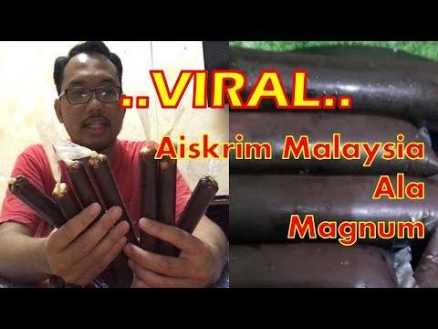 Resepi Aiskrim Malaysia Ala Magnum VIRAL. Anda Patut Cuba - Papaglamz TV