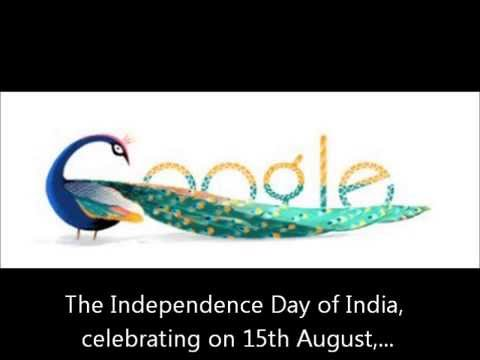 Google Doodle: Independence Day of India 2012