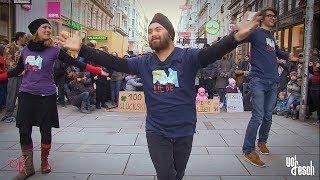 World Down Syndrome Day 2018 - Getanzte Modenschau von Ich bin O.K. und VOI fesch
