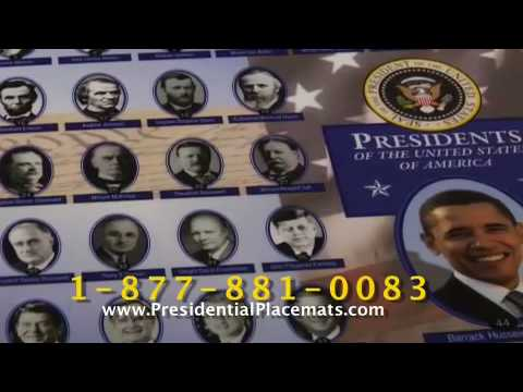 presidentialplacemats.com