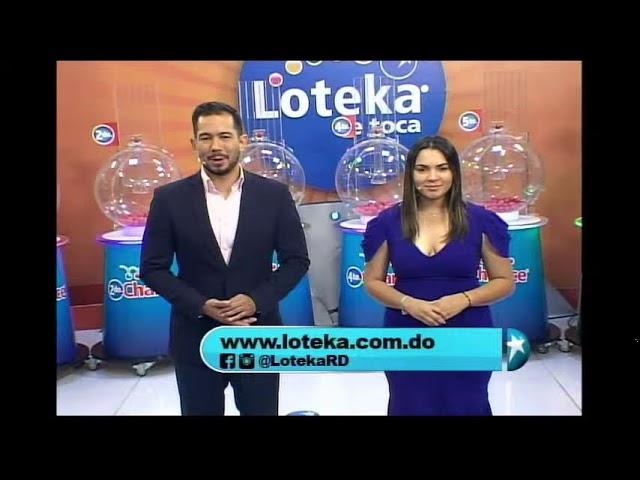 Loteka Lotería Electrónica Sorteo 07:55 PM 15-10-2021