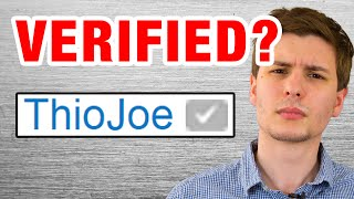How to Get Verified Checkmark on YouTube - ThioJoeTech