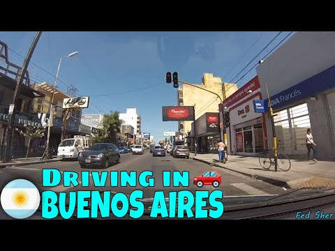 Driving in Buenos Aires (from Ciudadela to Haedo)