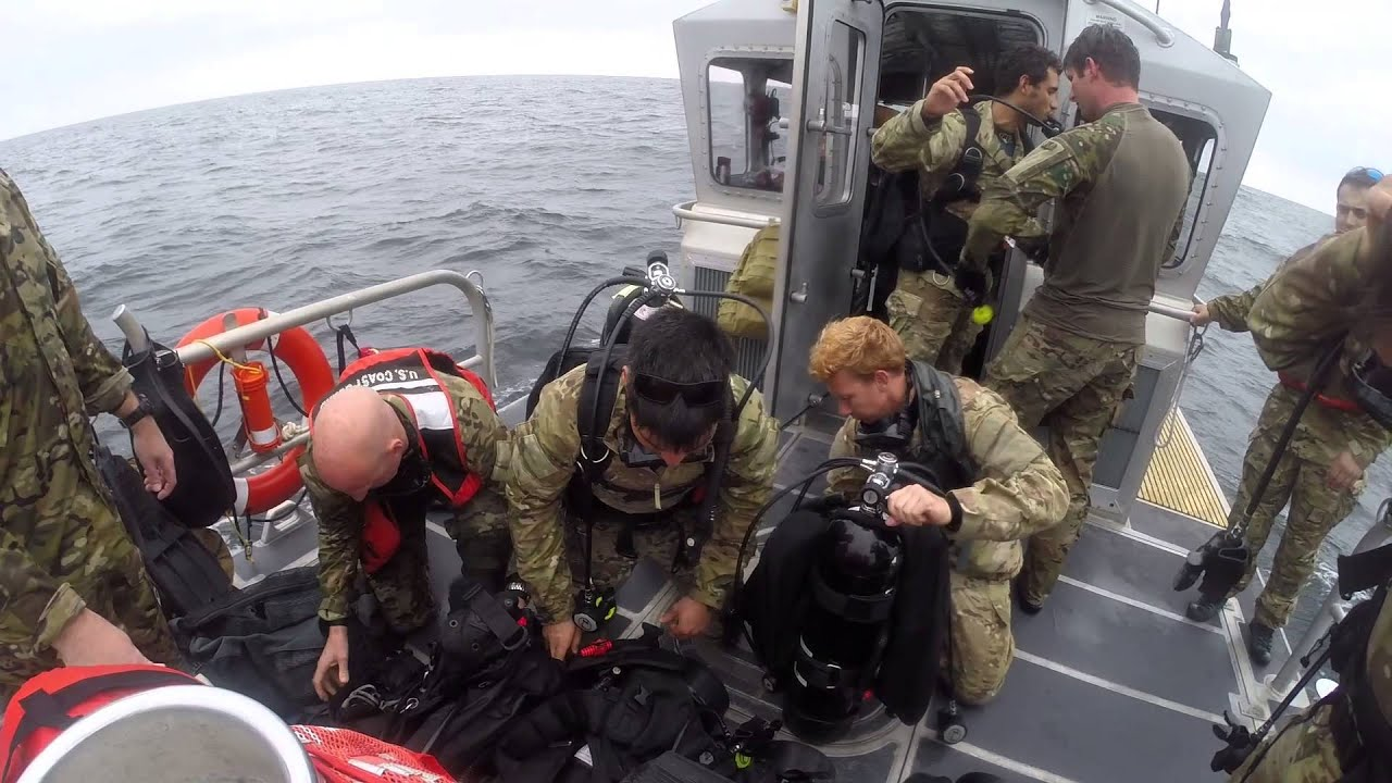 National Guard Special Forces work with Navy and Coast Guard - YouTube