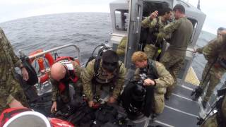 National Guard Special Forces work with Navy and Coast Guard