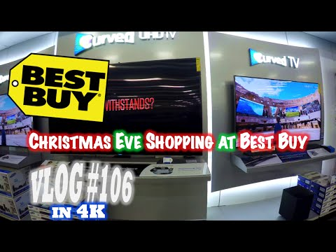 Christmas Eve Shopping at Best Buy & Some Life Lessons! |4K| (Vlog #106)