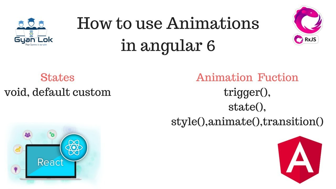 Angular 6 Animations | transition | trigger | style | animate | states |  Angular 6