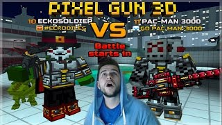 WE ARE UNBEATABLE!! 1V1 DUEL GAME-MODE Pixel Gun 3D