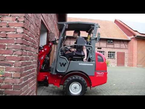 Video Kompaktní kloubové nakladače Hoftrac Řada 12