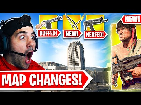 HUGE *NEW* Warzone Map Changes! 🤯 (NEW UPDATE)