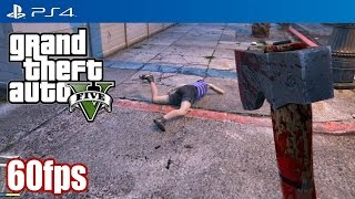 Grand Theft Auto V (PS4) - 60fps Gameplay [1080p] TRUE-HD QUALITY