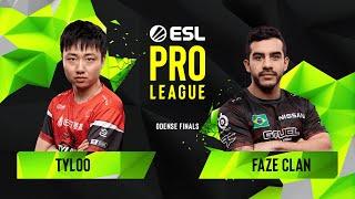 CS:GO - FaZe Clan vs. TYLOO [Dust2] Map 2 - Group A - ESL Pro League Season 10 Finals