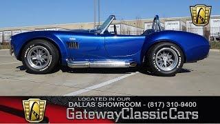 1967 AC Cobra Kit #634-DFW Gateway Classic Cars of Dallas