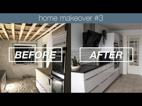 minimal-kitchen-before-&-after-|-home-makeover-#3