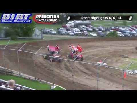 Princeton Speedway 6/6/14 Race Highlights