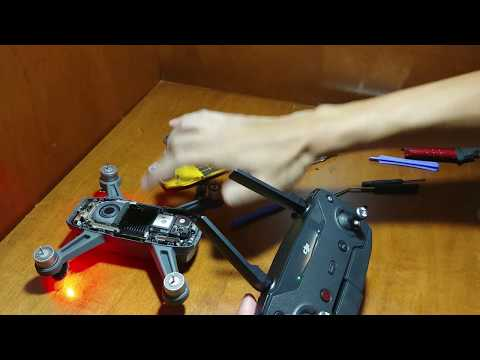 How to repair a DJI Spark - Motor and GPS replacement (detailed info in the description)