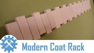 Making a Pivoting Wall Mounted Coat Rack