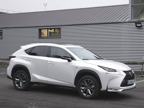 lexus nx 300h 2 5 hybrid 197 hp at acceleration 0 1 doovi. Black Bedroom Furniture Sets. Home Design Ideas